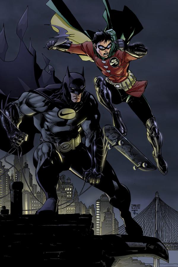 Hero Batman Nike 2