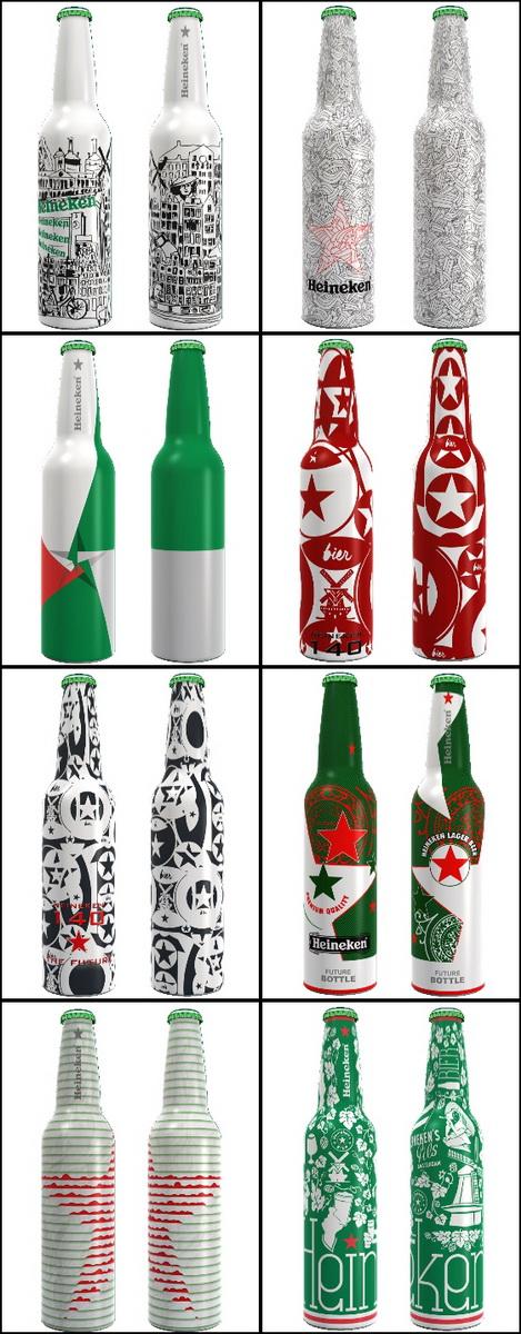 Heineken bottles2 2013