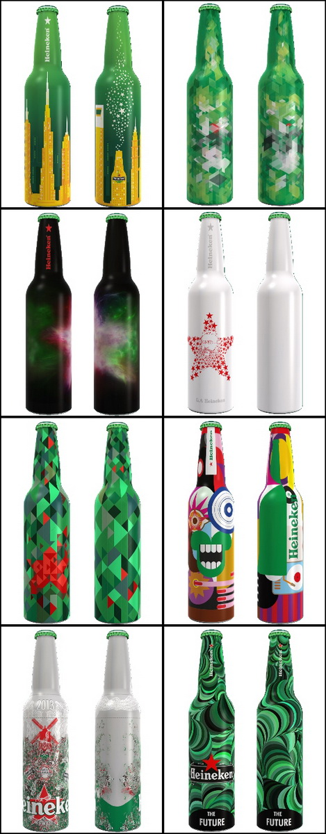 Heineken bottles3 2013
