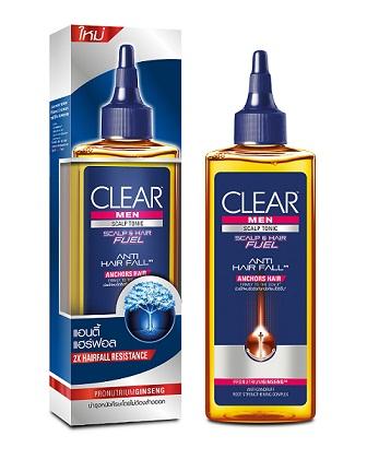 Clear men anti hair fall tonic