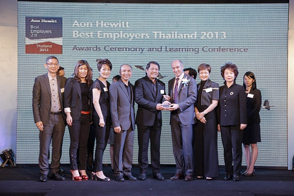 Mcnodald's best employer Thailand