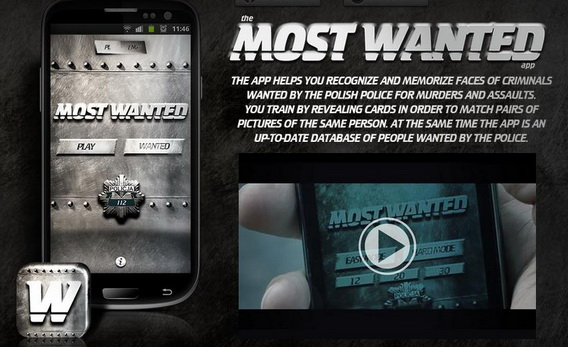 most wanted app2