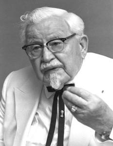 KFC sanders
