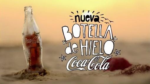coca cola ice bottle