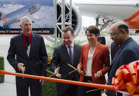 1st launch Jetstar