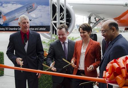 1st launch Jetstar