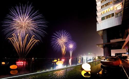 Hilton Fireworks_