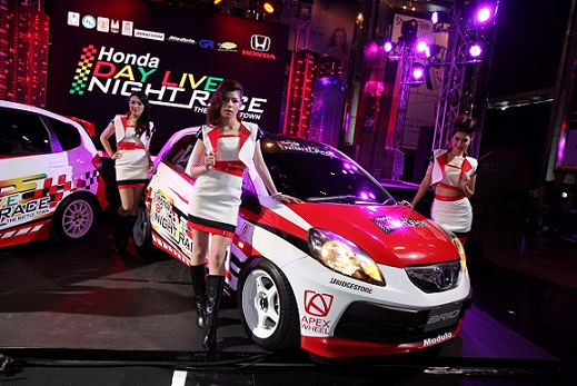 Honda Day Live Night Race_