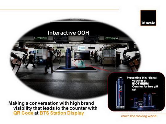 Interactive OOH Media