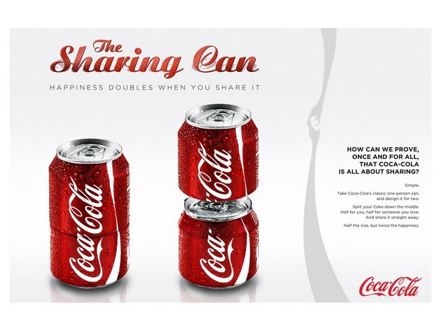 sharing can coca cola