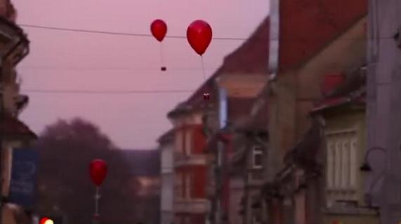 Coca Cola Christmas Balloons 3