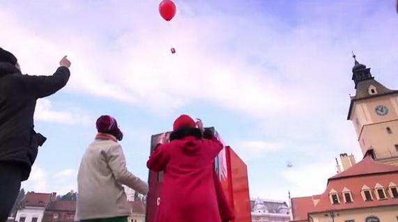 Coca Cola Christmas Balloons