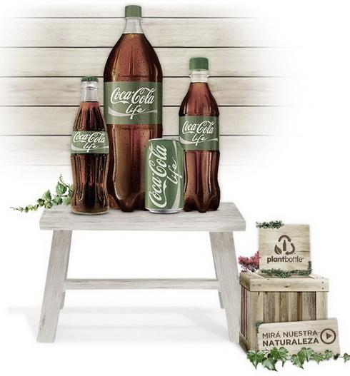 Coca cola green life