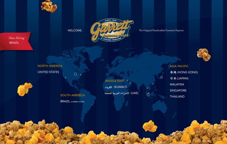 Garrett popcorn branch