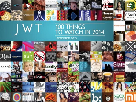JWT_100 things to watch 2014