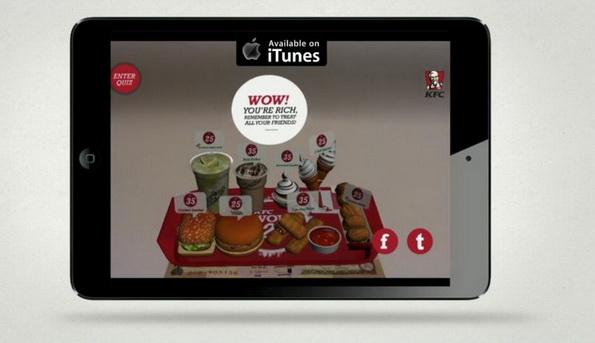 KFC wow 25 app AR3
