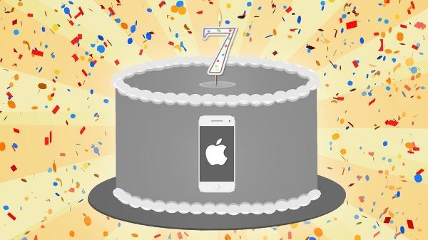 iphone 7 cake