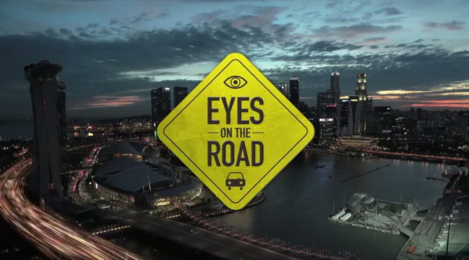 samsung eye on the road