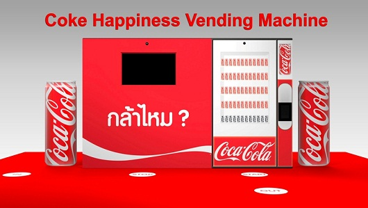 Coke Happiness Vending Machine