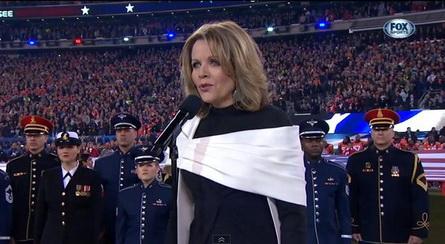 Renée Fleming Super Bowl 2014