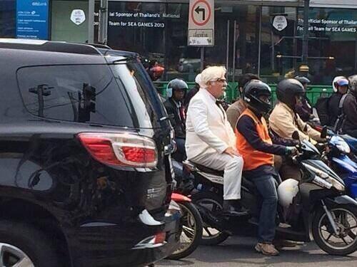 KFC Colonel Sanders Bangkok