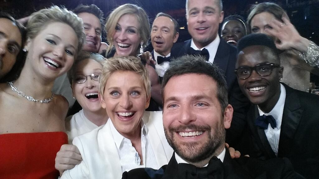 ellen most tweet oscars 2014