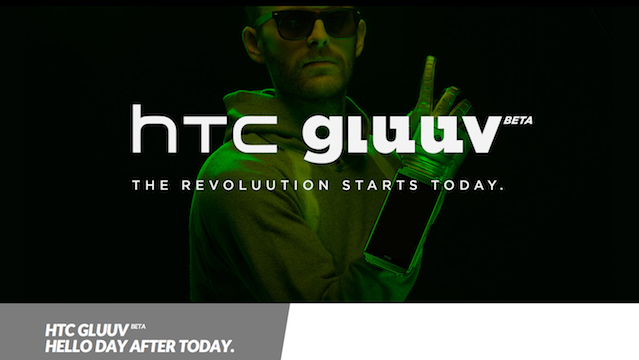 The HTC Gluuv (BETA) April fool day