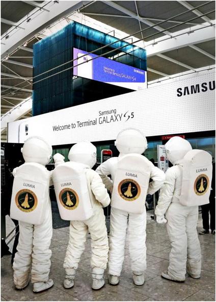 Samsung microsoft lumia5