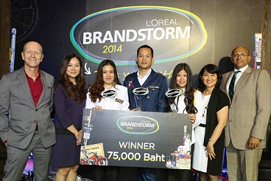 The Incredibles _The winner_ L'OREAL BRANDSTORM