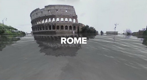 google street view World Under Water Rome