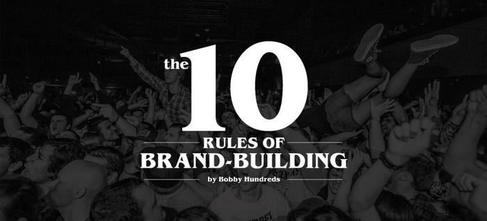 10 rules brandbuilding
