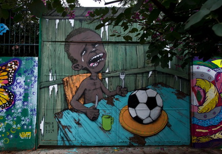 Graffiti Brazil world cup