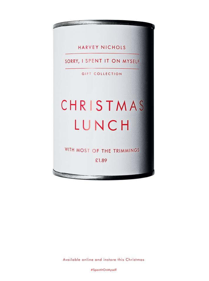 harvey nichols CHRISTMAS LUNCH