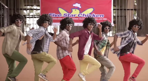 5 star Chicken ห้าดาว อินเดีย 3