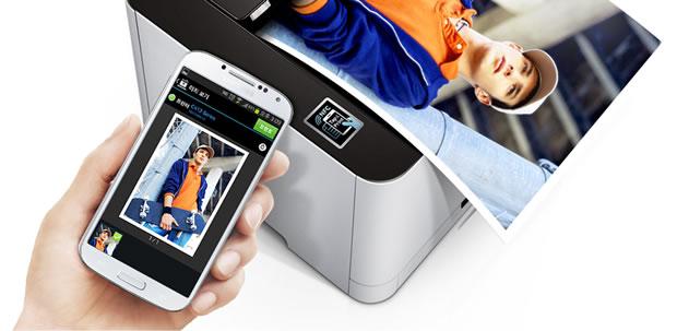 NFC samsung printer
