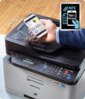 NFC samsung printer22