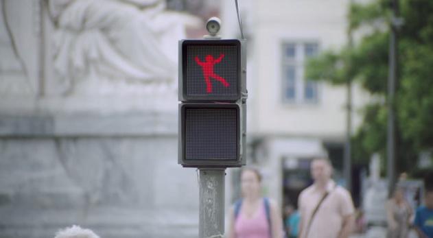 traffic lights dance
