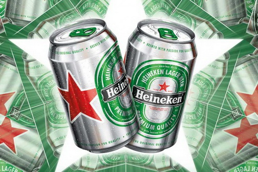 Heineken Star can new