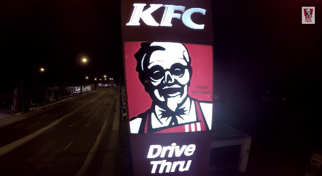 KFC Australia Holloween