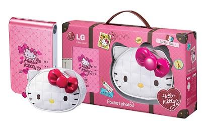 LG POCKET PHOTO HELLO KITTY 01