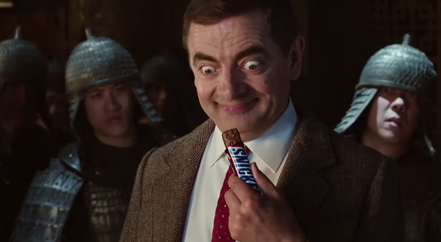 Snickers Mr bean Kungfu