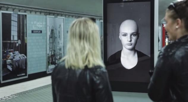 interactive billboard Swedish cancer2