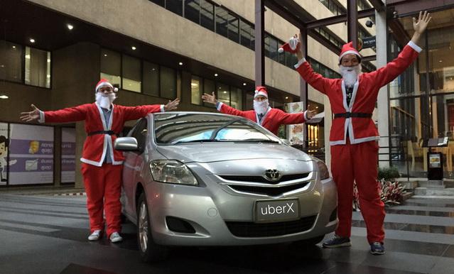 Santa UberX