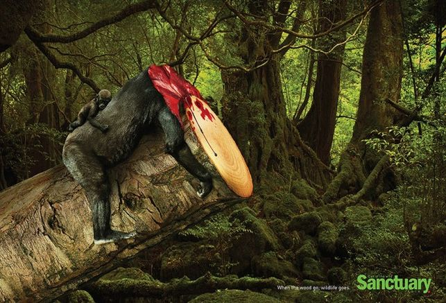 Shocking-Print-Ads-Deforestation-gorilla