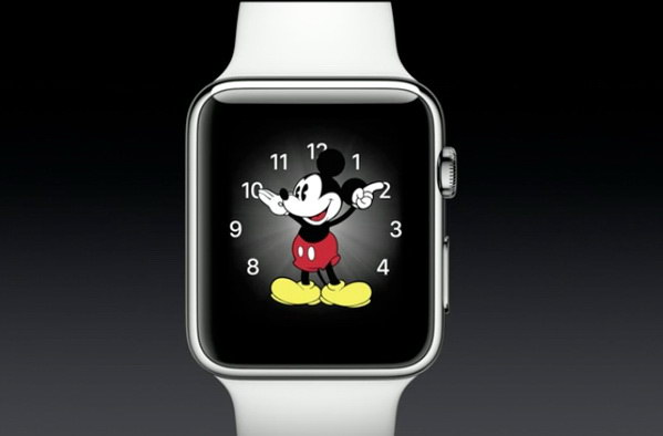 mickey-mouse-face apple watch