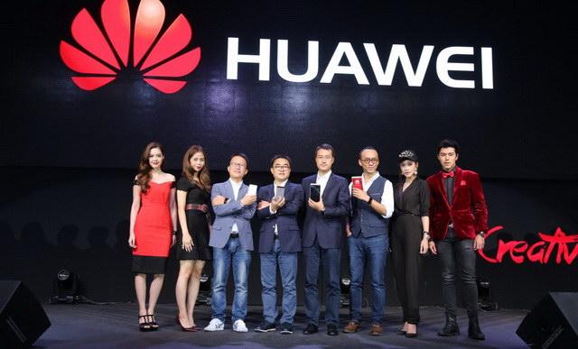 Huawei P8 celeb