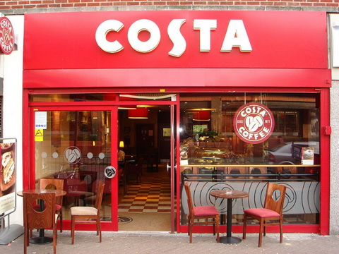 costa coffee chinese