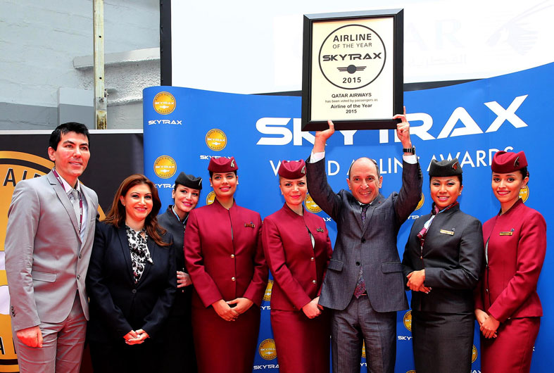 Accepting-the-award-for-Airline-of-the-Year-2015