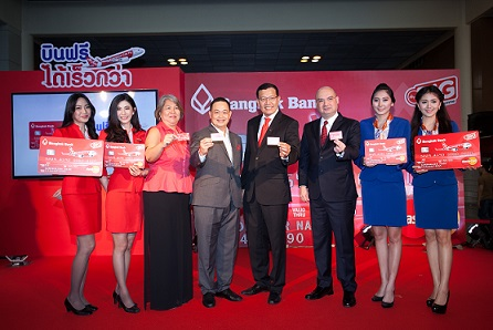 Bangkok Bank and AirAsia_ all in one credit card