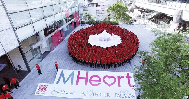 MHeart blood the mall